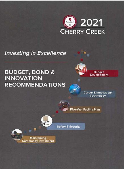 Budget, Bond & Innovation Recommendations Cover Art