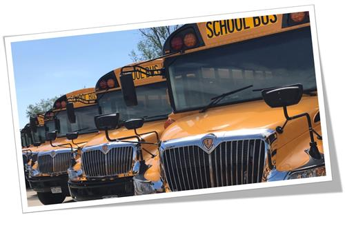 Cherry Creek School Bus Row