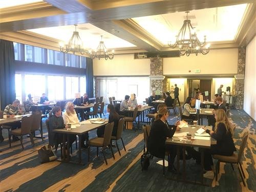 Grandview High School DECA Students at Smoky Hill High School