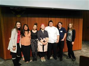 Smoky Hill High School FCCLA Students at a competition