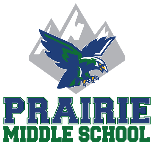 Prairie Middle School logo