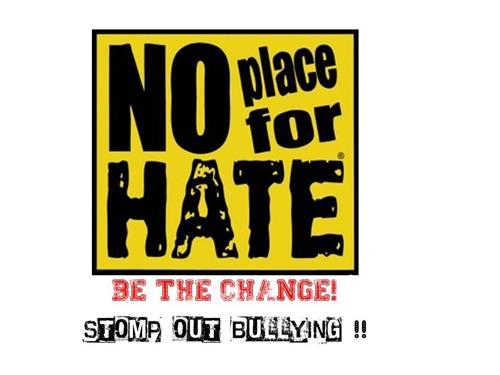 No place for hate image