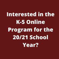 Full-Time K-5 Online