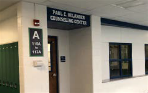 image of door leading to counseling office