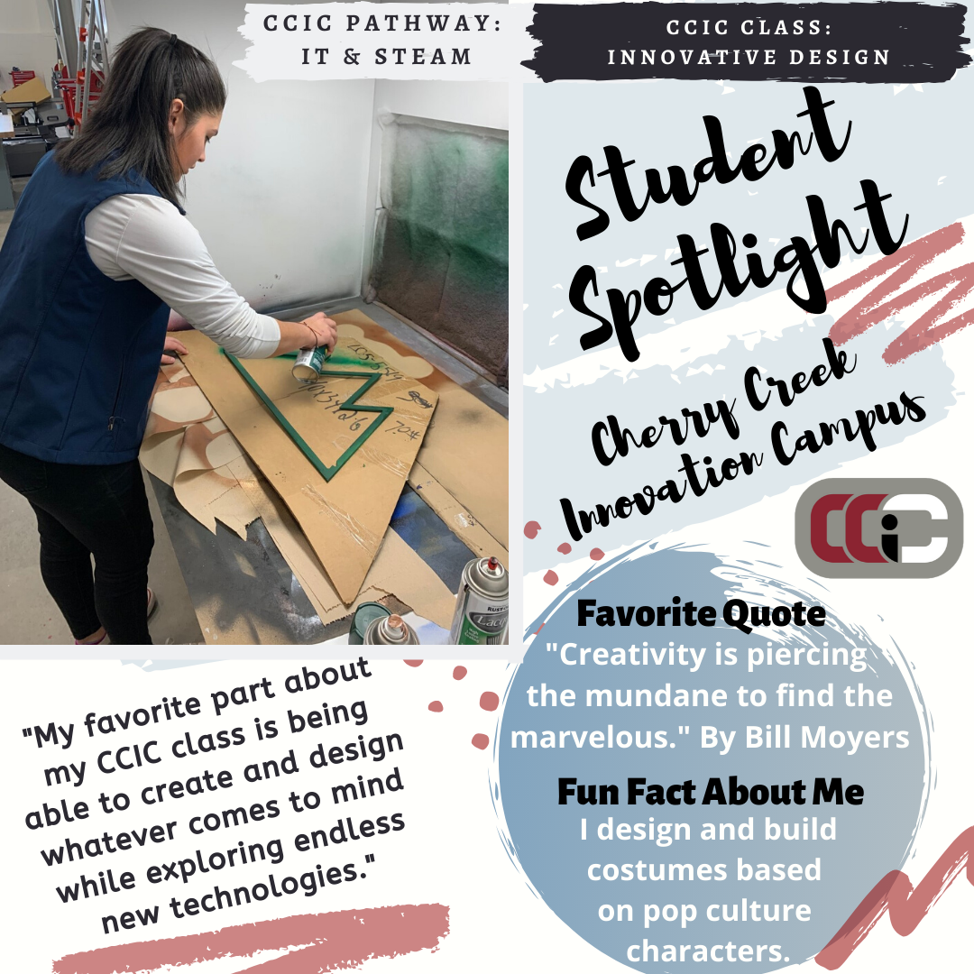 Student Spotlight STEAM