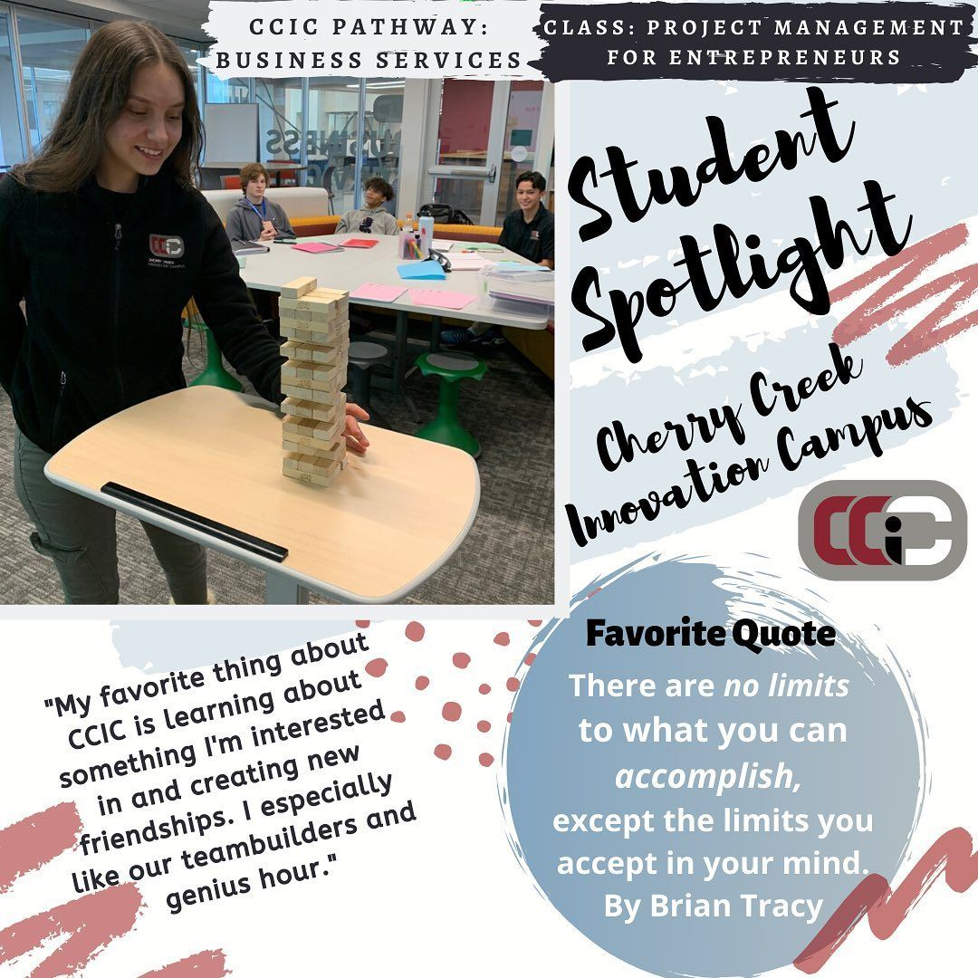 Business Services Student Spotlight