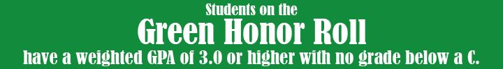 Green Honor Roll description