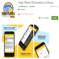 High Plains App in the Google Play Store