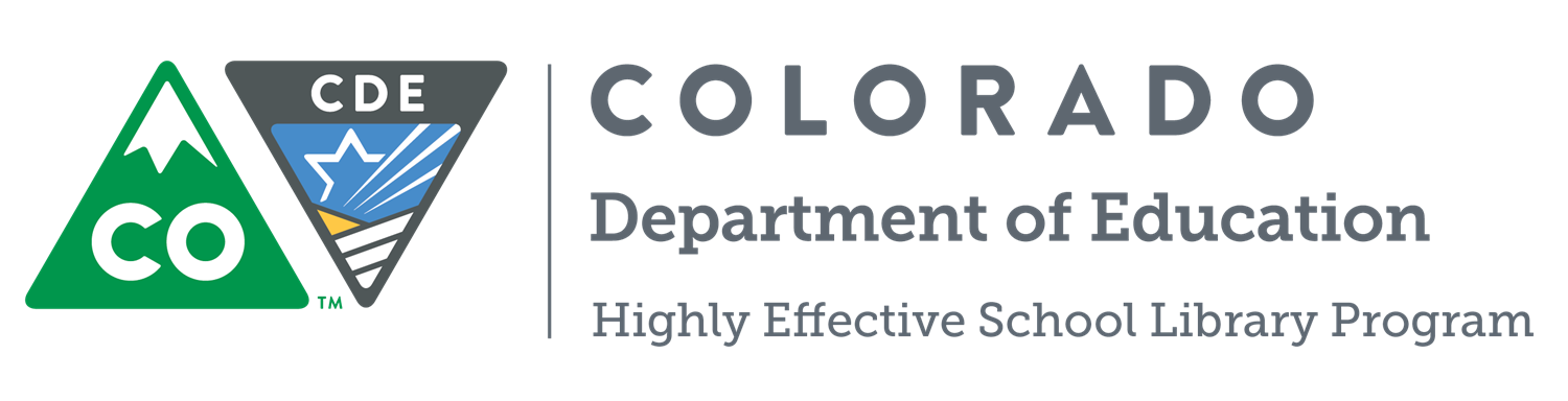 Colorado Department of Education: Highly Effective School Library Program logo