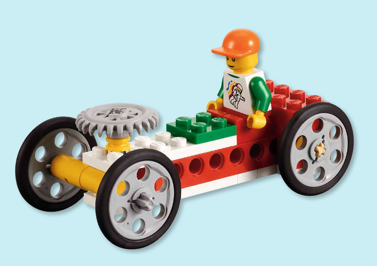 Image of LEGO Steerable Car