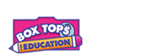 Box tops for education logo with pink box top and pencil