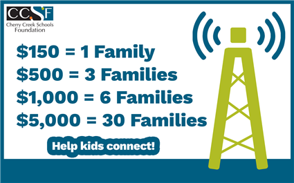 Help families connect to the Internet