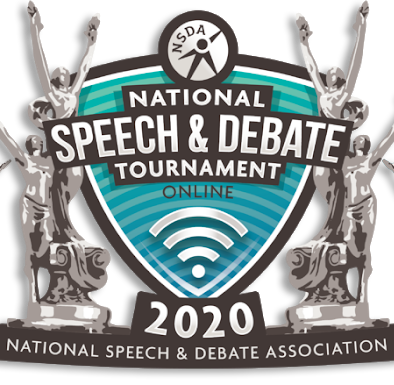 National Speech & Debate Tournament logo