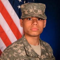 SPC Challen Alonzo, now a CCSD teacher