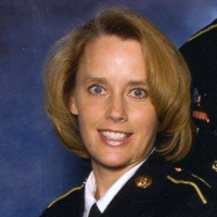 Retired First Sergeant Jeanine Laurie