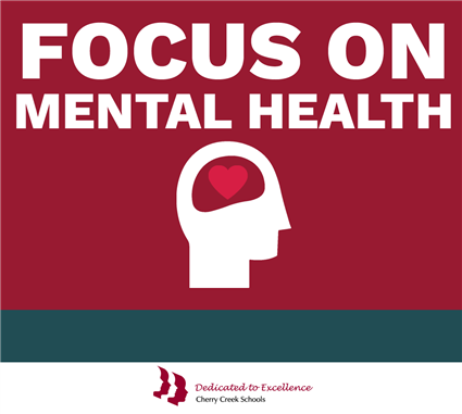 Mental health graphic: focus on mental health