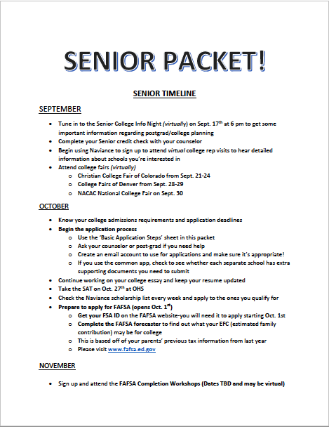 senior packet image