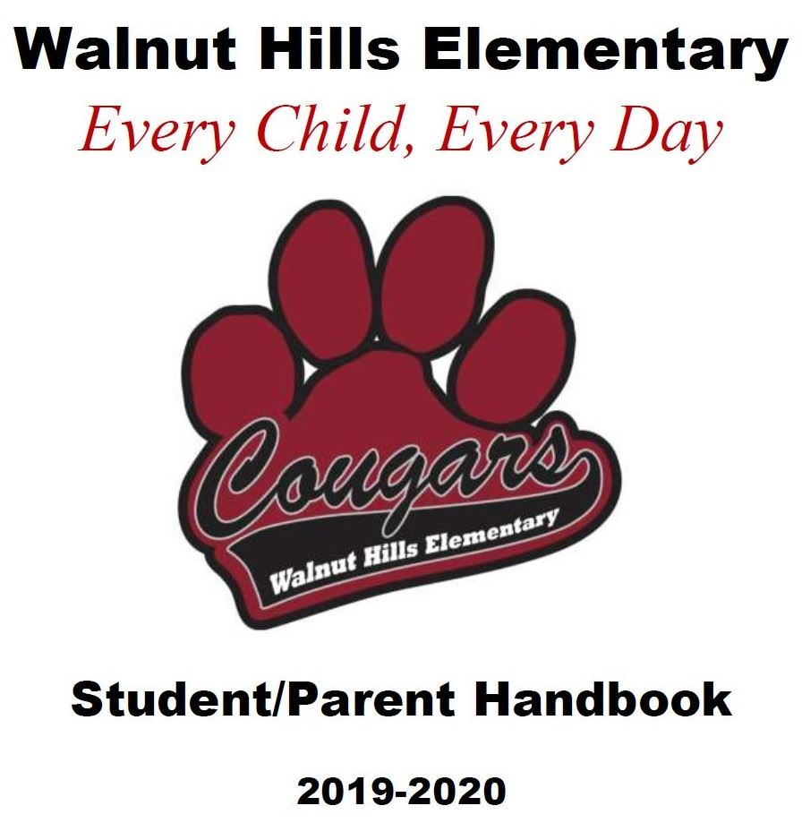 Student/Parent Handbook cover image