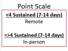 Point Scale from July 31, 2020