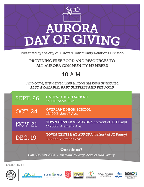Aurora Day of Giving