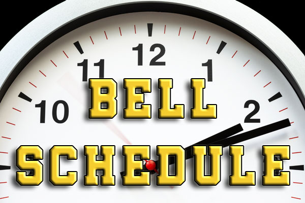 20-21 Bell Schedule and Delayed Bell Schedule