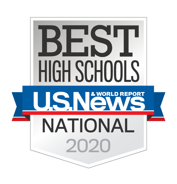 Cherry Creek is awarded one of the Best High Schools in 2020 by U. S. News and World Report