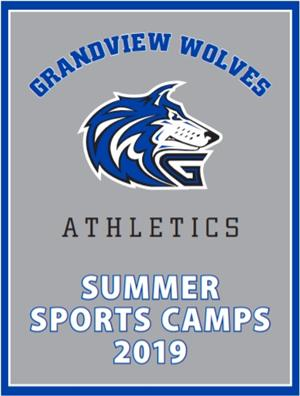 Summer Sports Camps Brochure Cover