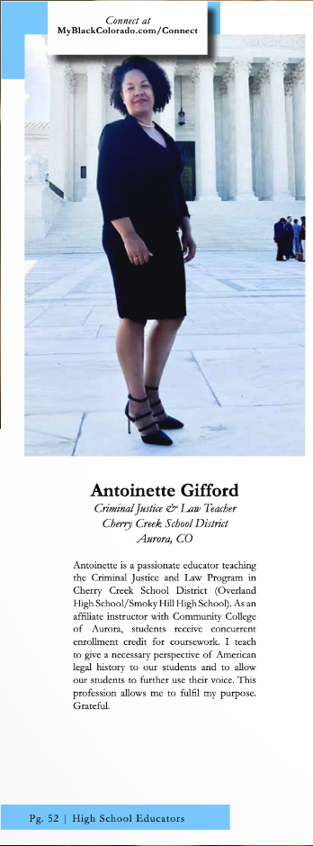 Antoinette Gifford article