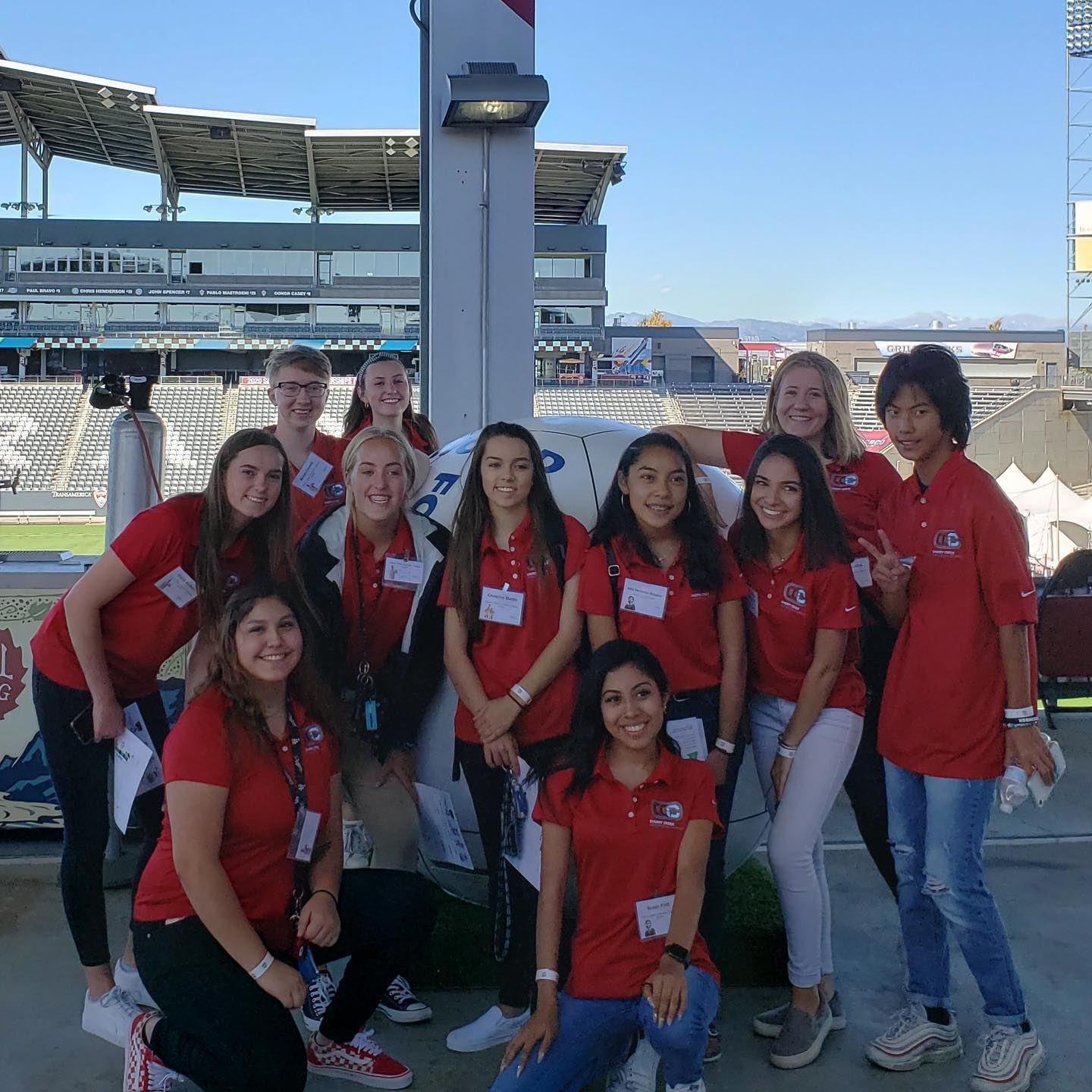 CCIC Health & Wellness Students Attend the HOSA Fall Leadership